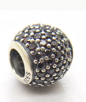 Authentic Pandora S925 Bead Charm Brown Pave Lights Design 791051BCZ for Sale in Mount Prospect, IL