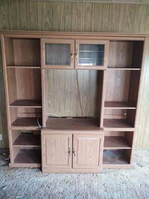 Entertainment center / wall unit / TV stand for Sale in Rancho Cucamonga, CA