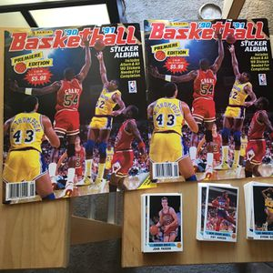 1990 Panini Sticker Albums for Sale in Los Angeles, CA