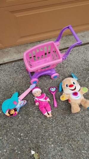 Baby girl lot toys- prices for all for Sale in Everett, WA