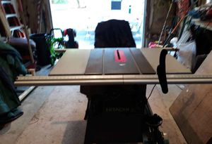 Hitachi table saw for Sale in Kingston, MA