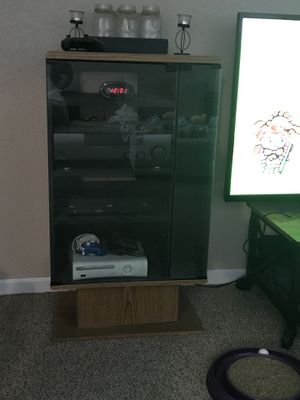Entertainment center with storage for Sale in Independence, MO
