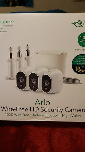 Arlo security cameras for Sale in Sand Springs, OK