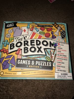 The Boredom Box Game and Puzzles for Sale in Fresno, CA