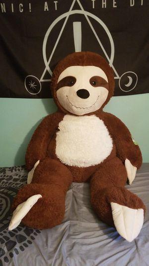 Stuffed Animal Sloth for Sale in Barnegat, NJ