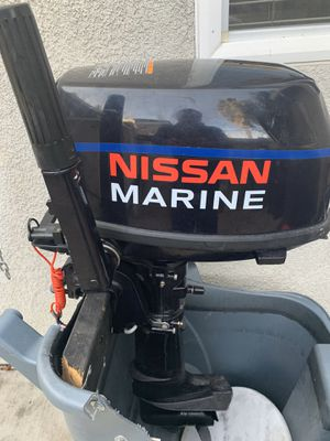 Nissan Marine 4 stroke Fishing Boat motor VERY GOOD CONDITION!! for Sale in Sacramento, CA