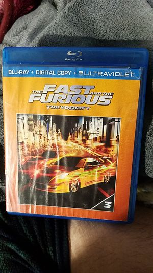 Blu-ray Fast and the Furious Tokyo Drift for Sale in Maud, OK
