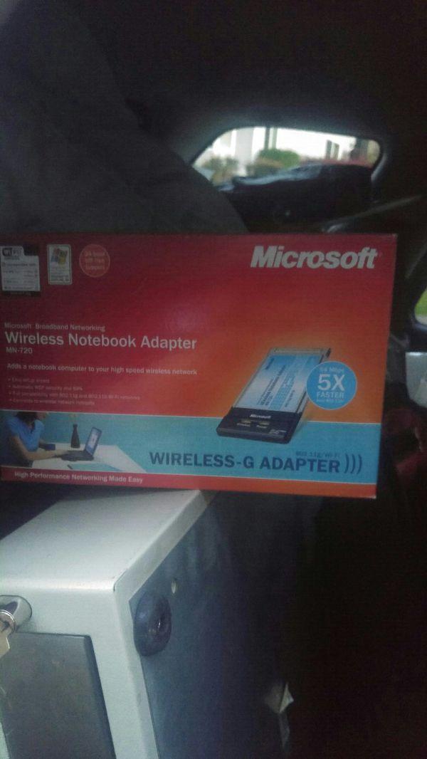 microsoft notebook adapter mn720