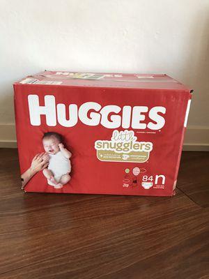Huggies Newborn Diapers for Sale in Santa Clara, CA