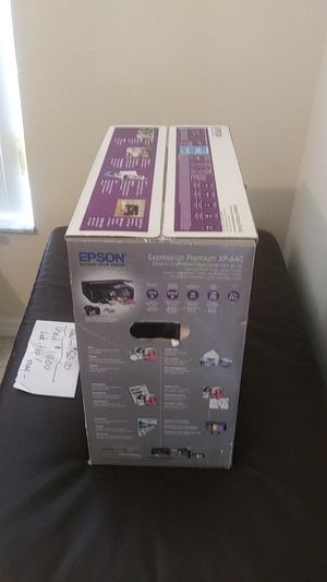 Epson expression premium XP 640 for Sale in Inverness, FL