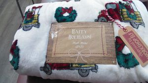 Christmas throw blanket for Sale in Los Angeles, CA