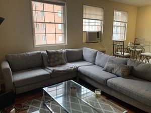 Lavender-Grey Sectional for Sale in Washington, DC
