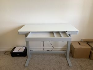 Elevating Plug in Touch Control Desk. Hard to find! for Sale in San Diego, CA