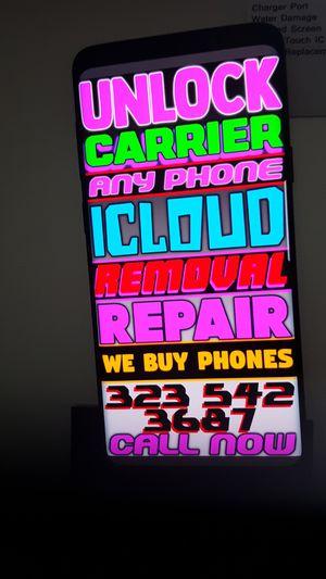 Samsung Galaxy Note 8 unlock for Sale in Los Angeles, CA