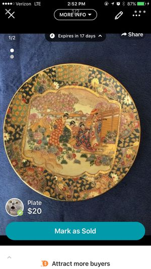 Decorative plate for Sale in Adelphi, MD