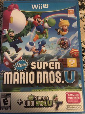 Nintendo Wii U Super Mario Bros +Luigi for Sale in Davenport, FL