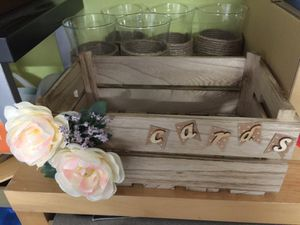 Box for cards at wedding for Sale in Framingham, MA