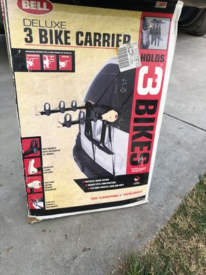 Bike Rack - Trunk - 3 Bicycles for Sale in Fresno, CA