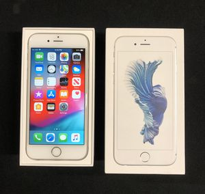 iPhone 6S silver 64Gb factory unlocked for Sale in Los Angeles, CA