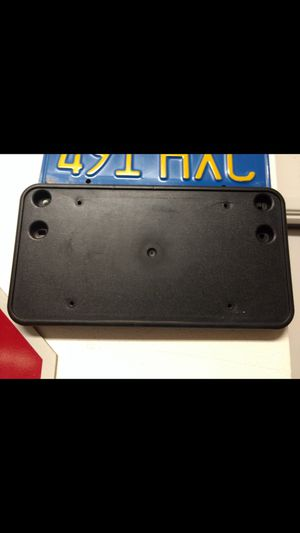 License plate mount for Sale for sale  Riverside, CA