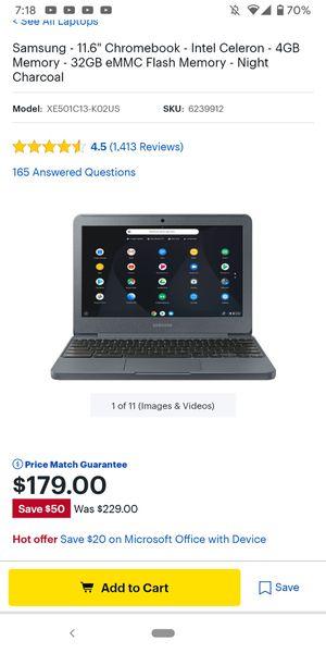 Chromebook by Samsung for Sale in Pomona, CA