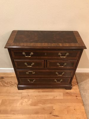 Drexel Banded Mahogany Chippendale Chest of Drawers for Sale in Bothell, WA