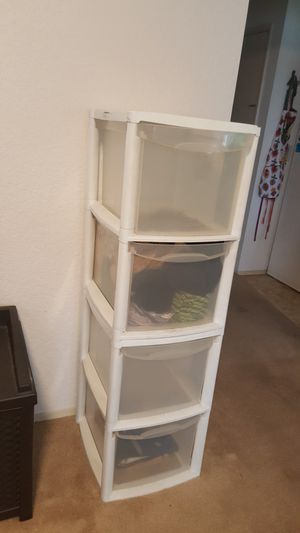 4 Drawer plastic storage for Sale in Seattle, WA