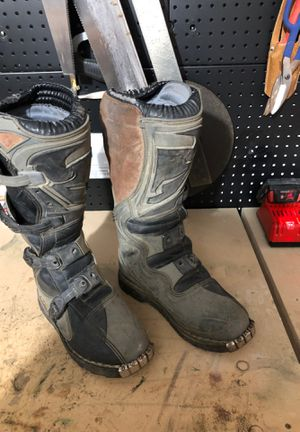 Thor motocross boots. Size 7 for Sale in Tacoma, WA