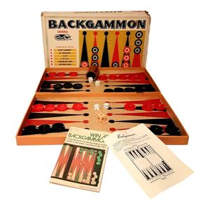 Vintage Backgammon Checker Game Set for Sale in Bakersfield, CA