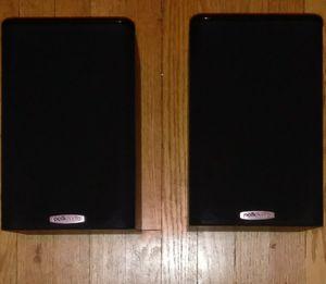 Polk Audio Monitor/Speakers Black for Sale in Detroit, MI