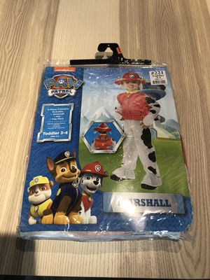 Halloween costume Paw Patrol Marshall for Sale in Chicago, IL