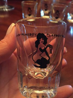 Playboy club shot glasses for Sale in Miami, FL