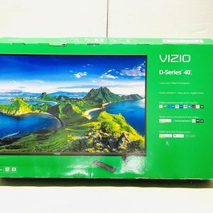"New Other VIZIO 40"" Class FHD LED Smart TV D-Series D40f-G9, Black for Sale in Dallas, TX"