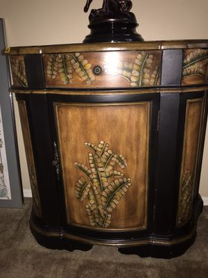 $75 with draw and storage and deep shelves for Sale in Gilbert, AZ