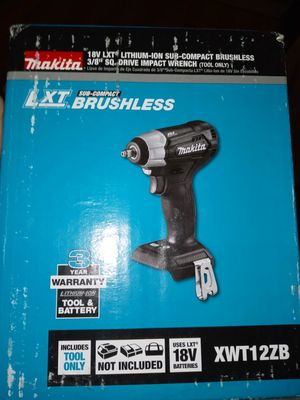 Makita 18-volt impact wrench drill tool only for Sale in Modesto, CA