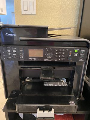 Canon Copy Fax Scan laser printer w/ cd & manual for Sale in Lake Worth, FL