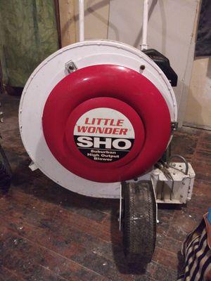 Walk behind 5 hp little wonder blower for Sale in Collinsville, IL