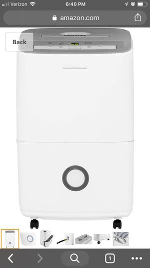 Frigidaire 50 pint dehumidifier for Sale in Gig Harbor, WA