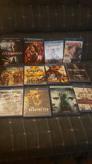Brand New Blu-Ray Movies (Read Description) for Sale in Hayward, CA