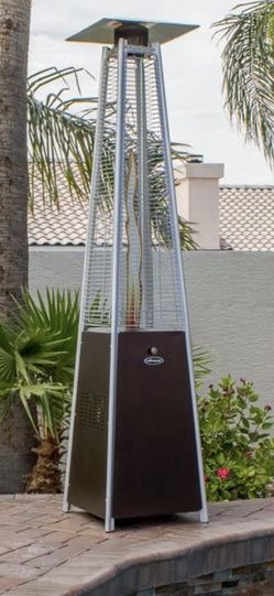 Brand New And Assembled Patio Heater With Cover for Sale in Brea,  CA