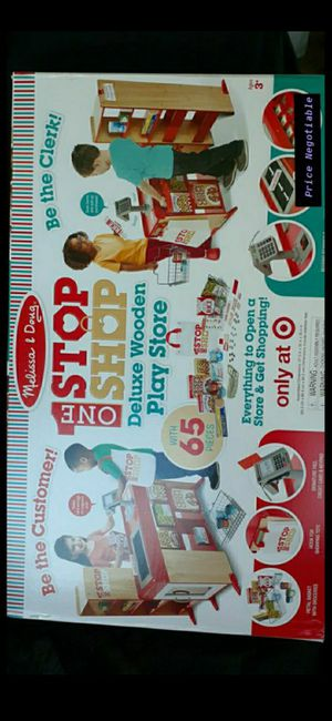 Melissa and Doug: One Stop Shop Deluxe Wooden Play Store for Sale in Oakland Park, FL
