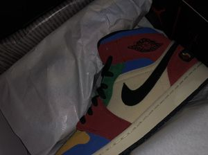 Air Jordan 1 Fearless Blue the Great Size 10 for Sale in Garden Grove, CA