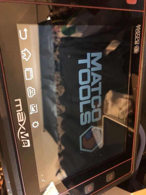 Matco maxme scanner for Sale in Rowland Heights, CA - OfferUp