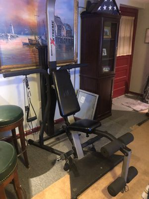Bowflex Total gym for Sale in Fairfax, VA
