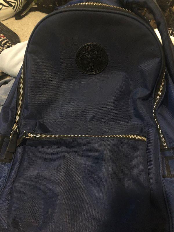 Versace book bag