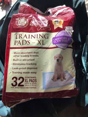 22 dogtraining pads extra large for Sale in Walnut Creek, CA