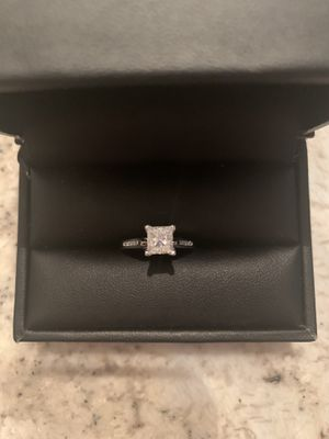 Princess Cut Diamond Engagement Ring Size 5.5 for Sale in Darien, IL