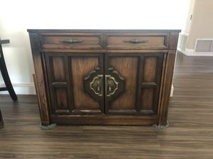 Saginaw Credenza w/8 Track and Record Player for Sale in Lakeside, CA
