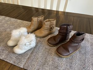 Baby and Toddler girl boots for Sale in Fort Lauderdale, FL