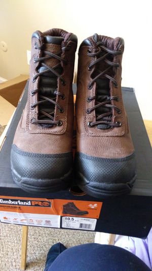 "Timberland PRO® 6"" Endurance TiTAN® XL Steel Toe Alloy Work Boot, Men's Size 9.5 and 10.5 for Sale in Aurora, CO"